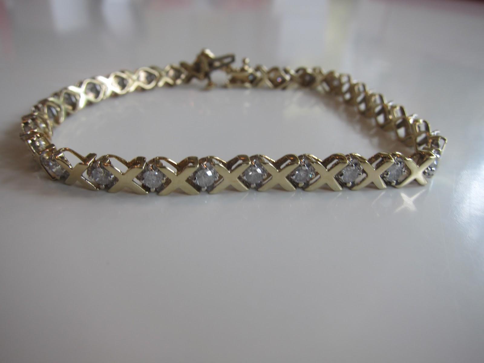 The Tales Of Two Item 56 Xoxo Diamond Tennis Bracelet