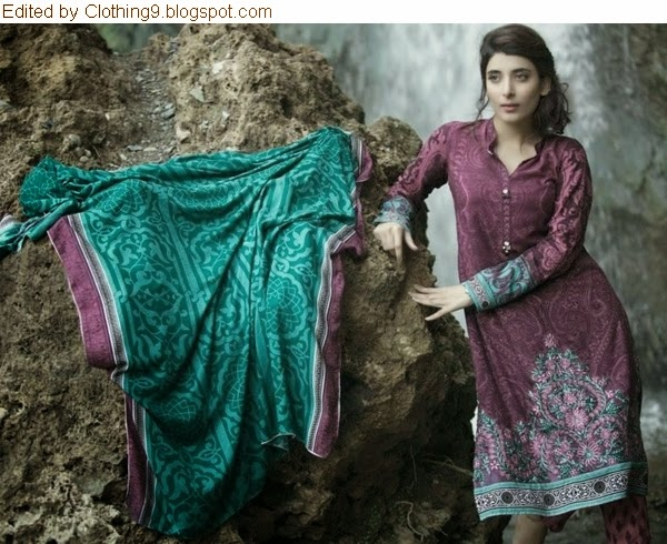 Mariab Luxury Linen 2014-15