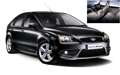 home car collections the new ford focus 2 0 tdci. Black Bedroom Furniture Sets. Home Design Ideas