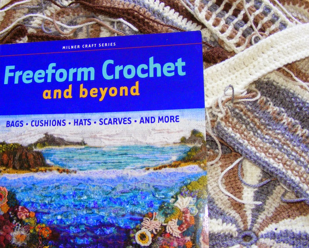 Book by Renate Kirkpatrick Freeform Crochet and beyond