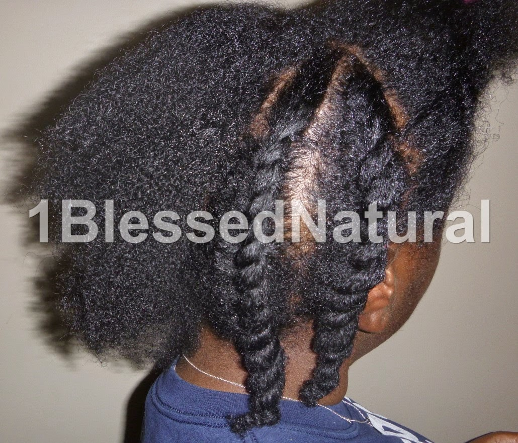 Copyright 2015 1BlessedNatural- flat twisting