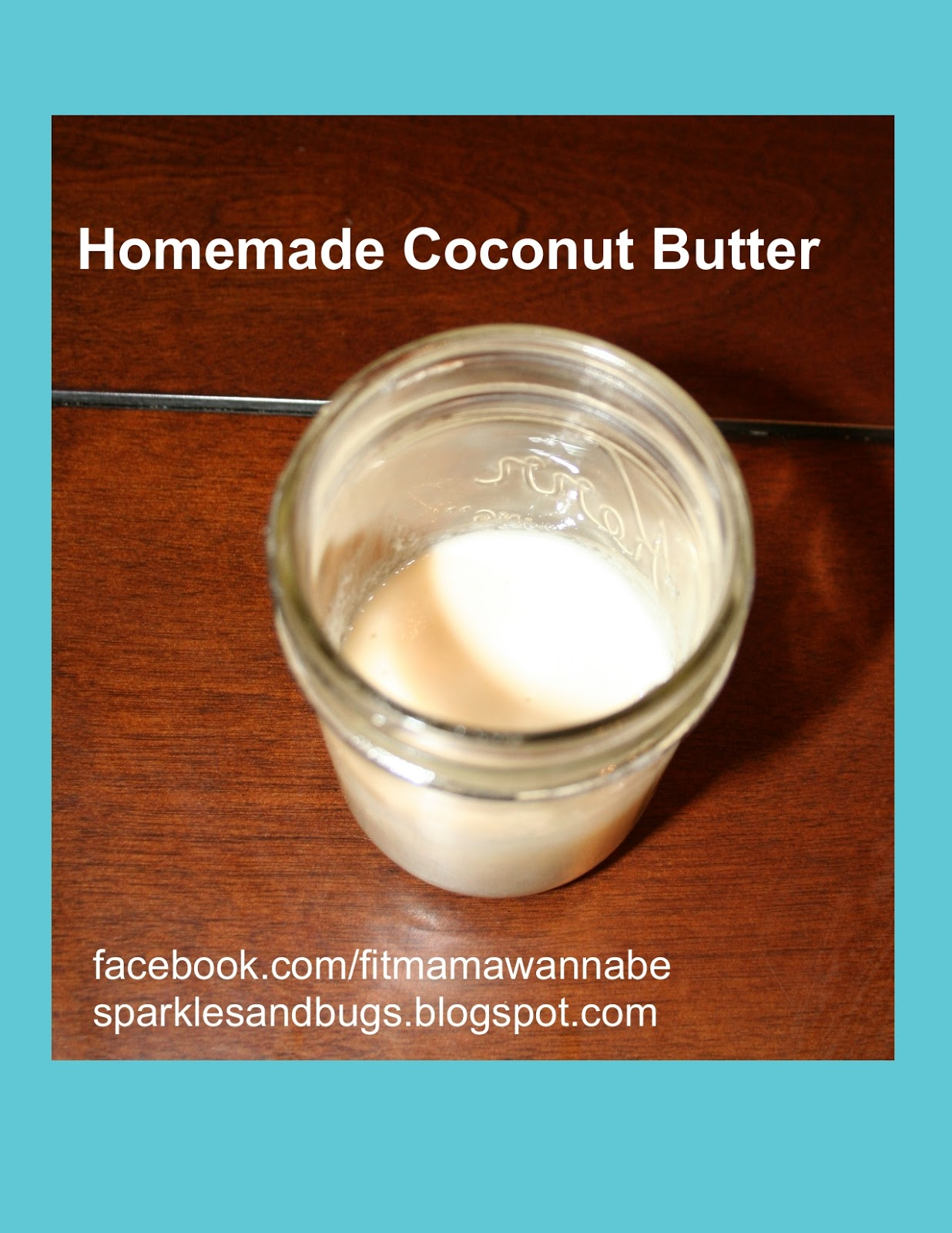 Healthy Happy Fit: Homemade Coconut Butter