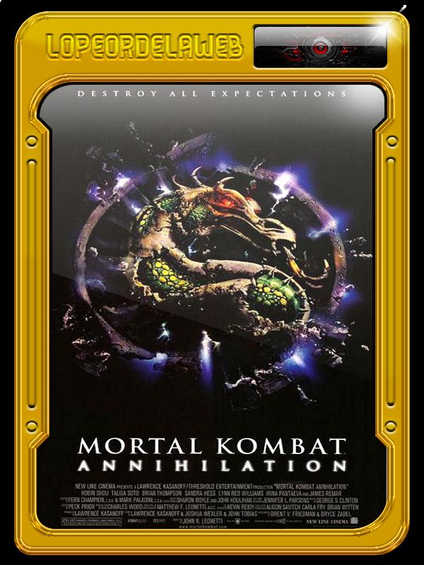 Duología: Mortal Kombat BrRip, 720p, Dual, Mega, Uptobox