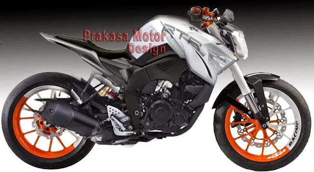 Modifikasi motor Yamaha Byson streetfighter