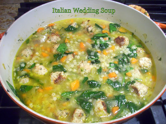 Flavors by Four: Italian Wedding Soup