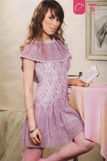 http://www.vyazemsami.ru// Платье с накидкой