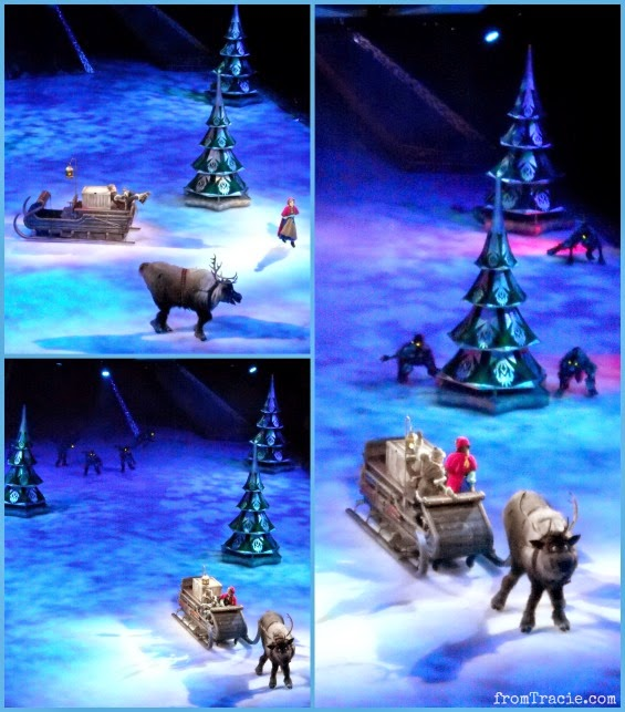 Anna Meets Kristoff - they are chased by wolves