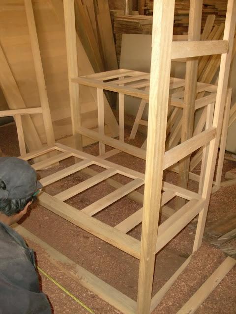 Decoraciones manualidades en madera tornillos tipo spack for Planos de roperos de madera