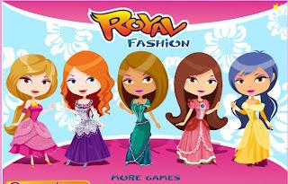 Juego de vestir y peinar a las 4 princesas