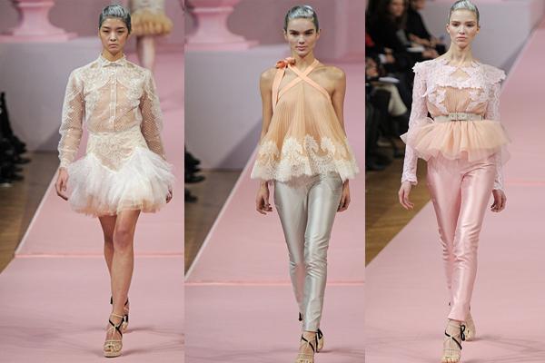 من alexis mabille في أسبوع الموضة في باريس 2013
