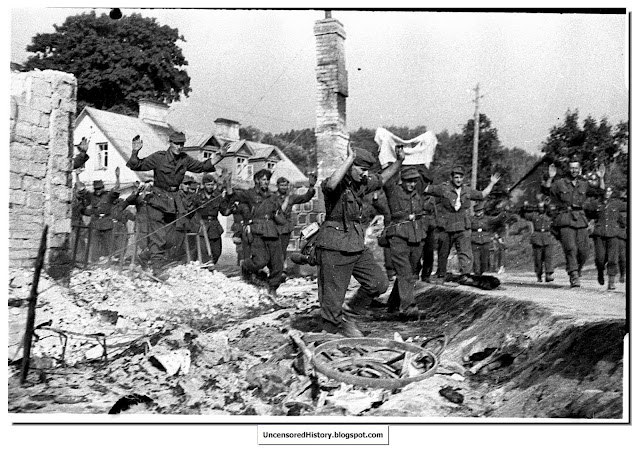 Germans surrender  Koenigsburg April 1945