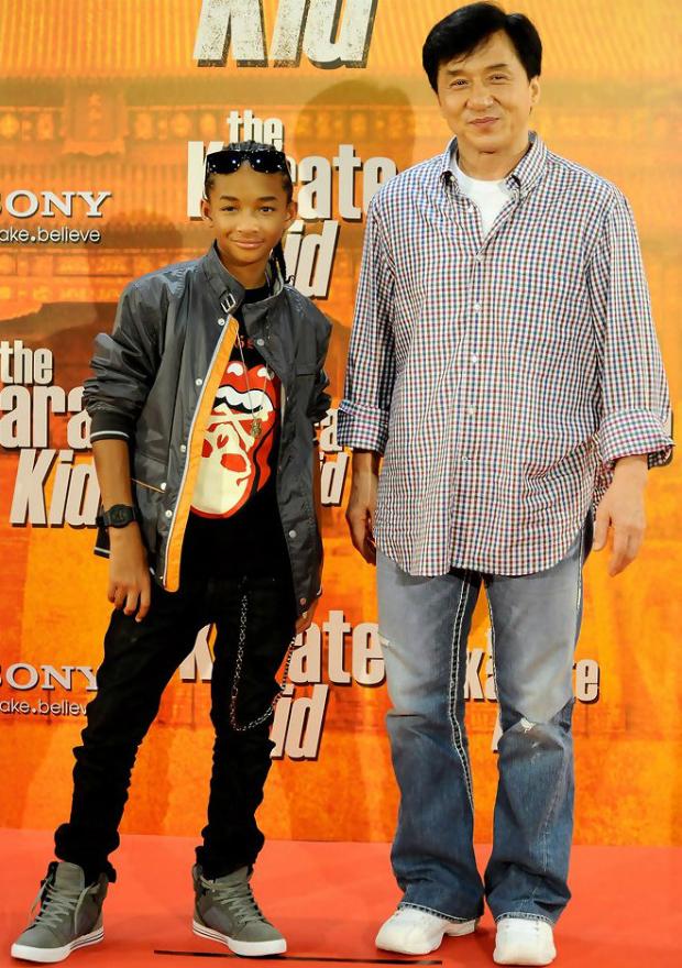 Jaden Smith y Jackie Chan se volvieron a juntar