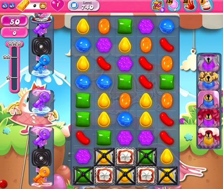 Candy Crush Saga 740