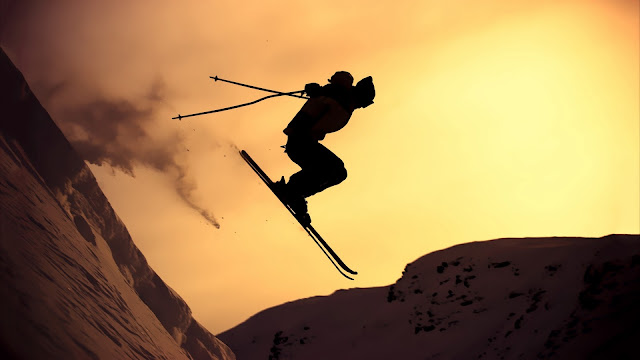 Extreme Skiing HD Wallpaper