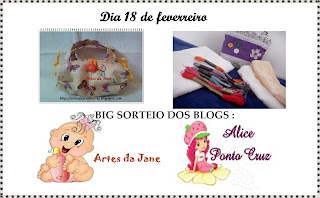 Artes da Jane e Alice ponto cruz