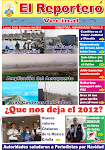 """EL REPORTERO VECINAL - EDICIN 38 - DICIEMBRE 2012"