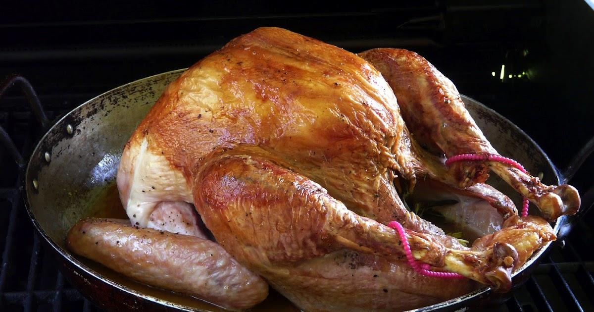 Thibeault's Table: Roast Turkey on the Grill