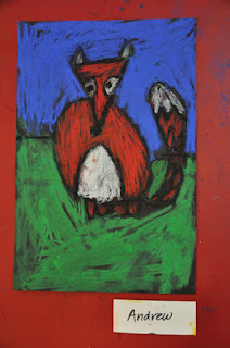 Cute Fox Kindergarten Art Project