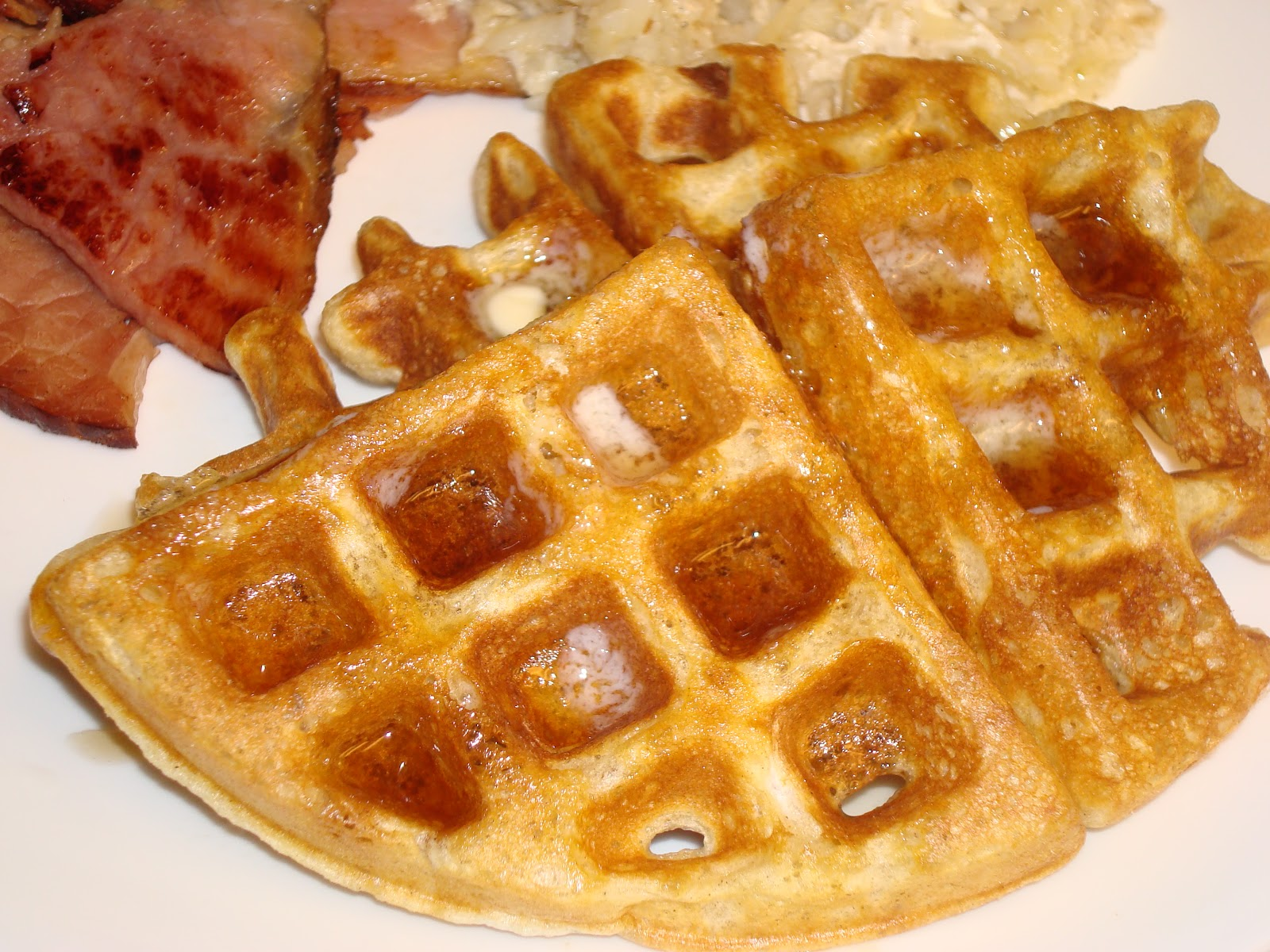 Make lemonade and more!: Cinnamon Belgian Waffles