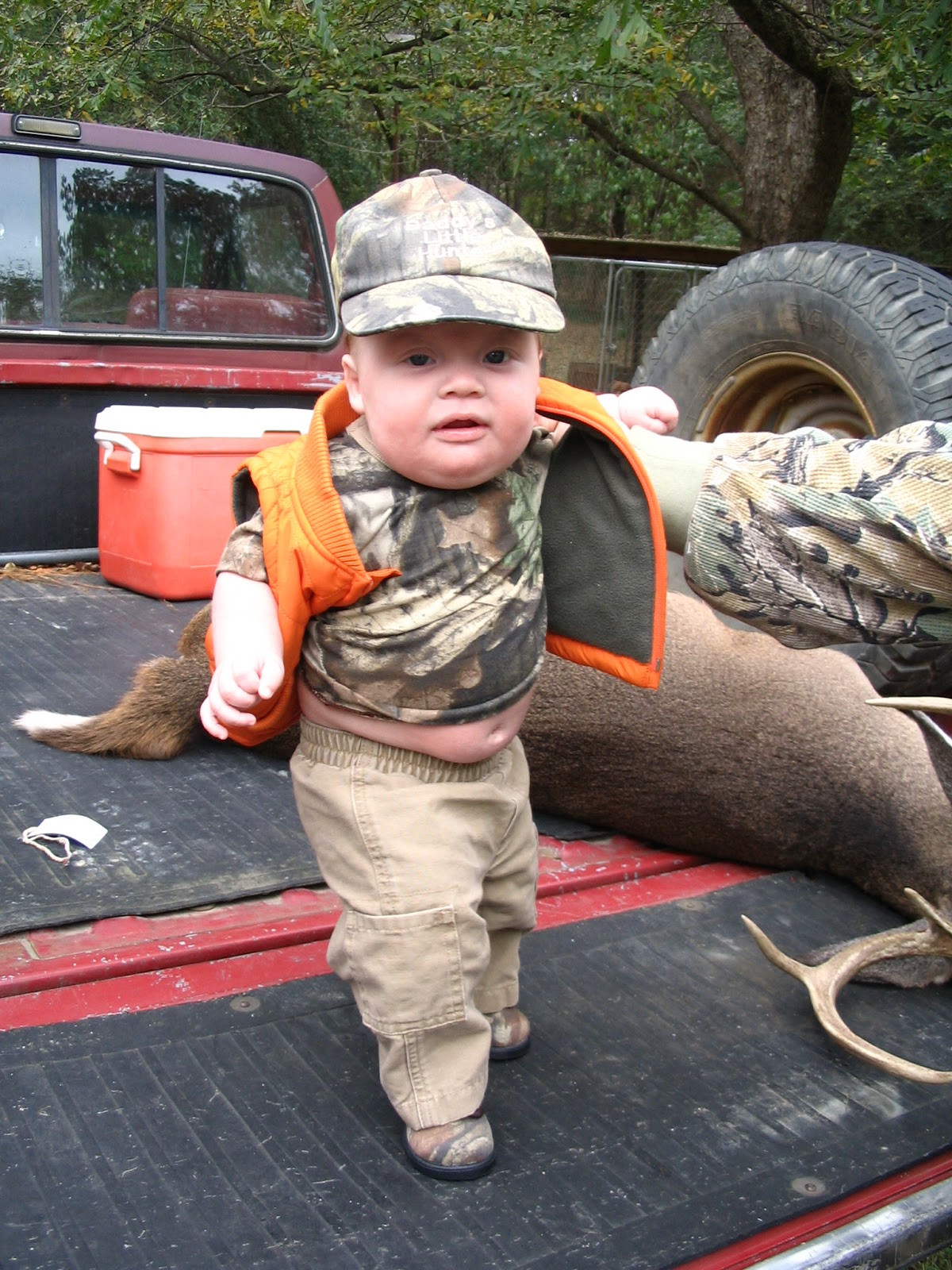 Since His First Day Of Deer Season In 2005 When He Was 3 Months Old Hunting Has Been A BIG Part Life B Started Taking T About 18