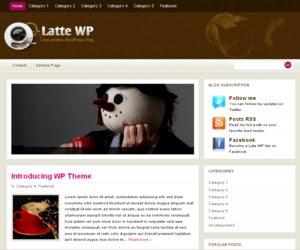 Latte WP WordPress Theme