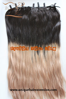 ombre clip hair extensions