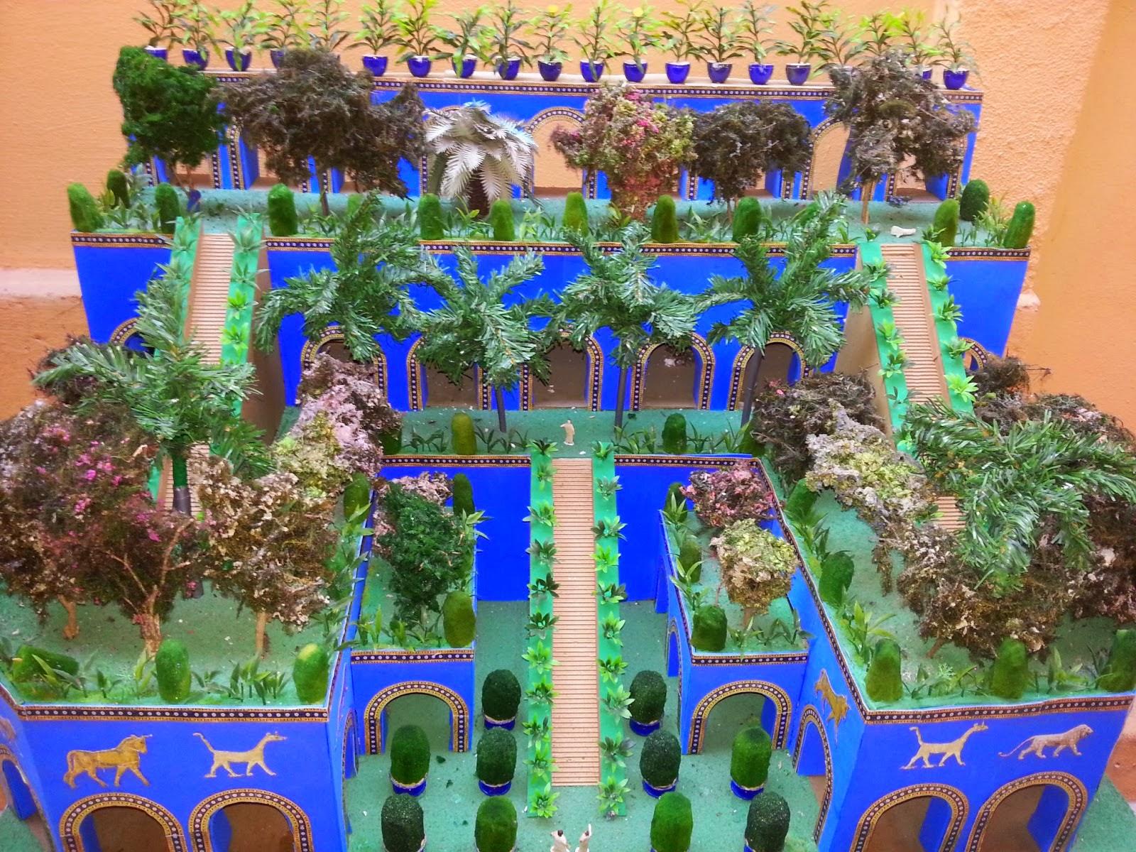 Profissão História Os Jardins Suspensos da Babilônia