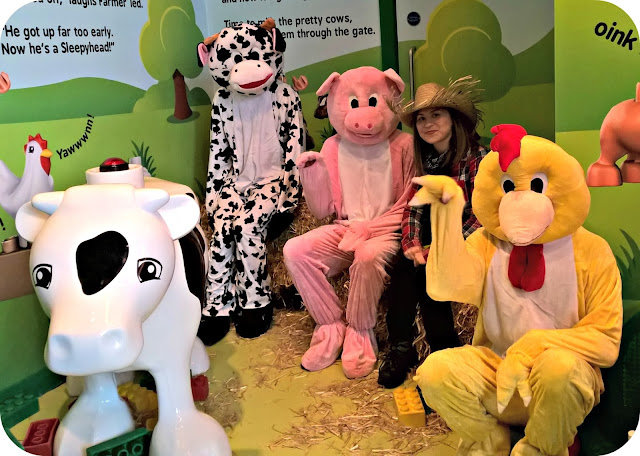 Fun Down on Duplo Farm at LEGOLAND Discovery Centre Manchester Story Time