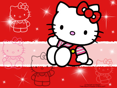 Gambar Kartun Hello Kitty