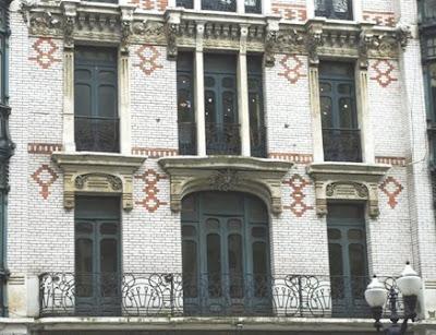 Gijón, Modernismo, edificio calle Corrida 8