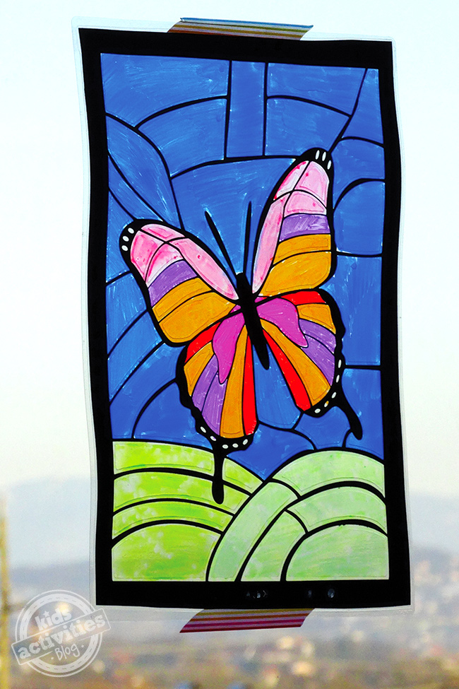 The fairy and the frog 27 ideas for kids mini beast and for Glass art projects
