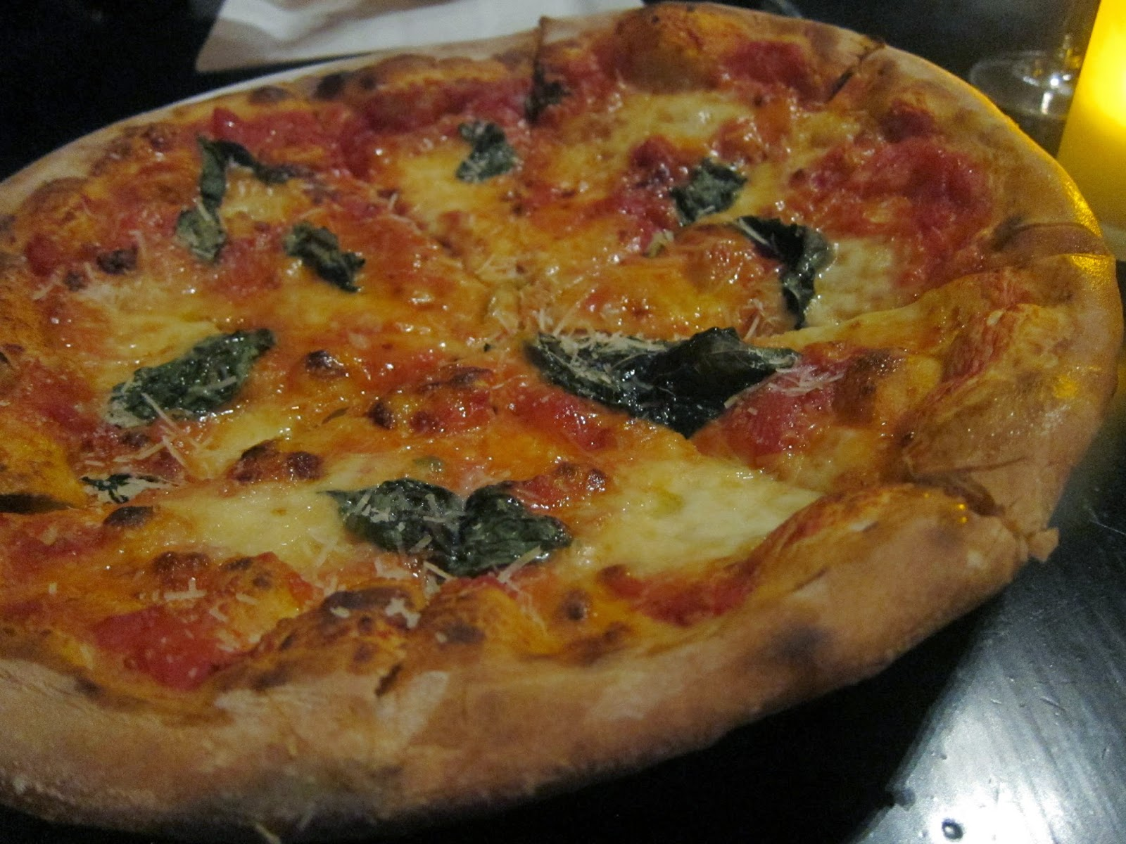 Margherita Pizza at Orta | The Economical Eater
