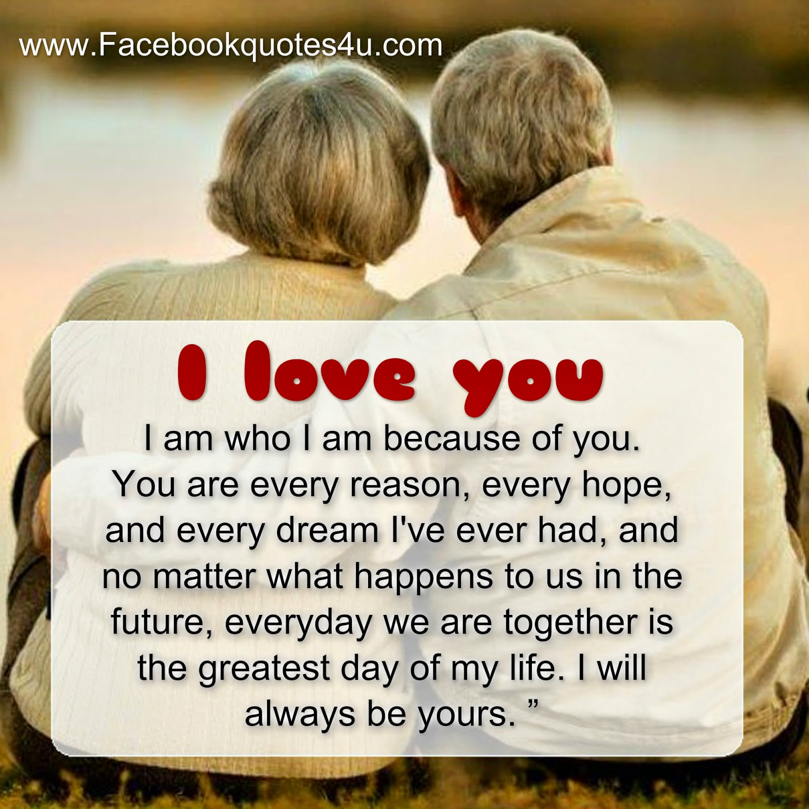 """No matter what happens to us I will always be yours """""""