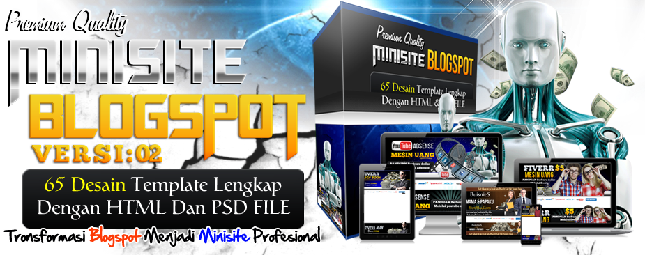 minisite blogspot indonesia