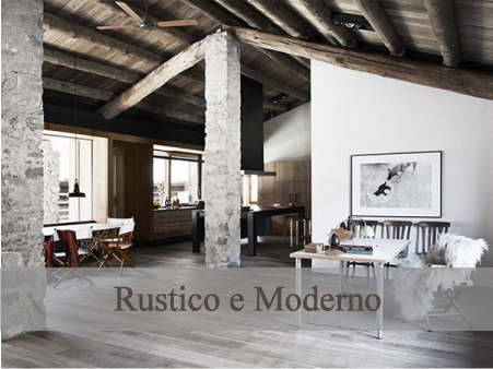 Uno chalet rustico e moderno blog di arredamento e for Art e decoration rivista