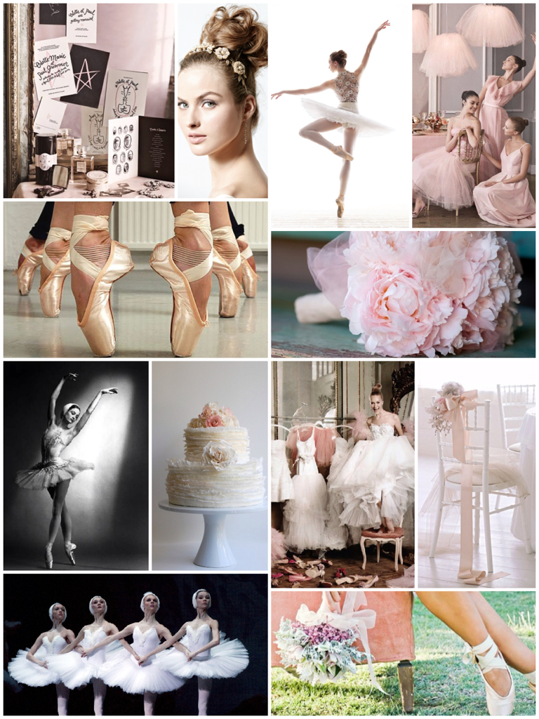 Ballet Wedding Inspiration Board No 7