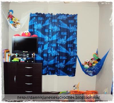 Crochet Toy Hammock | All For Crochet