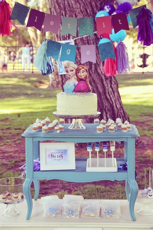 Unify Handmade DIY Frozen Birthday Party