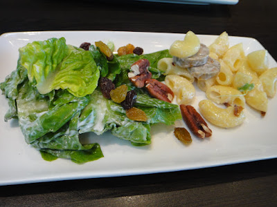 Salad and Pasta Station at Level 33 MBFC