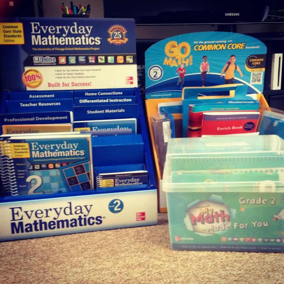 Technology Tailgate: Go Math vs My Math Technology Components HELP!