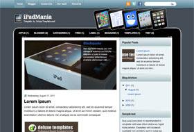 iPadMania Blogger Template