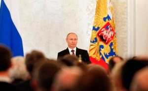 Putin Bantah Pasukan Khusus Rusia Ada di Ukraina Timur
