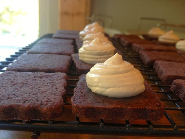 Heidi's Mix: Chocolate Espresso Sandwich Cookies