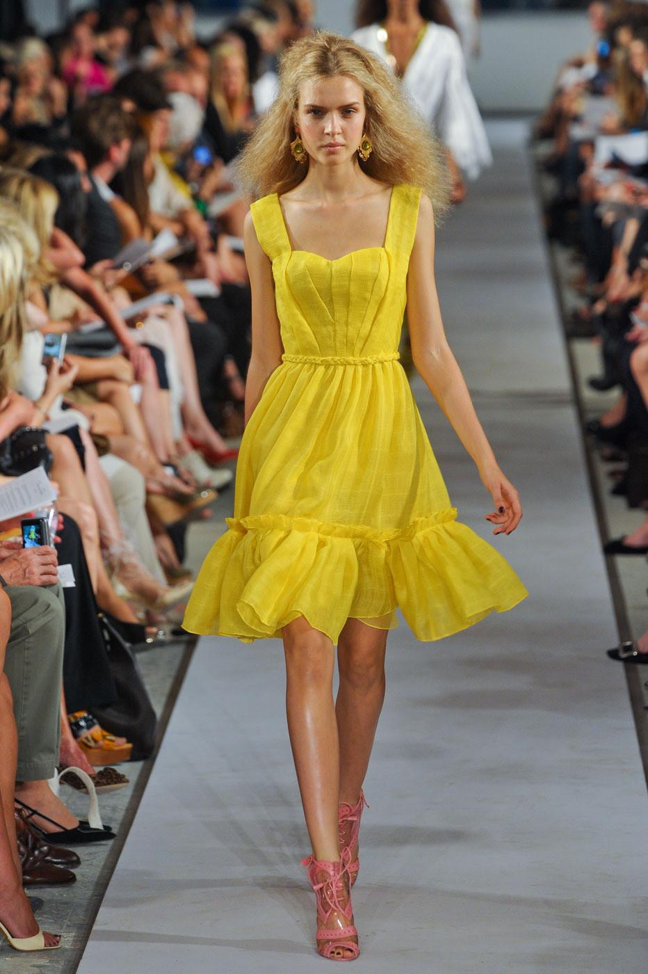 Oscar de la Renta Spring/Summer 2012