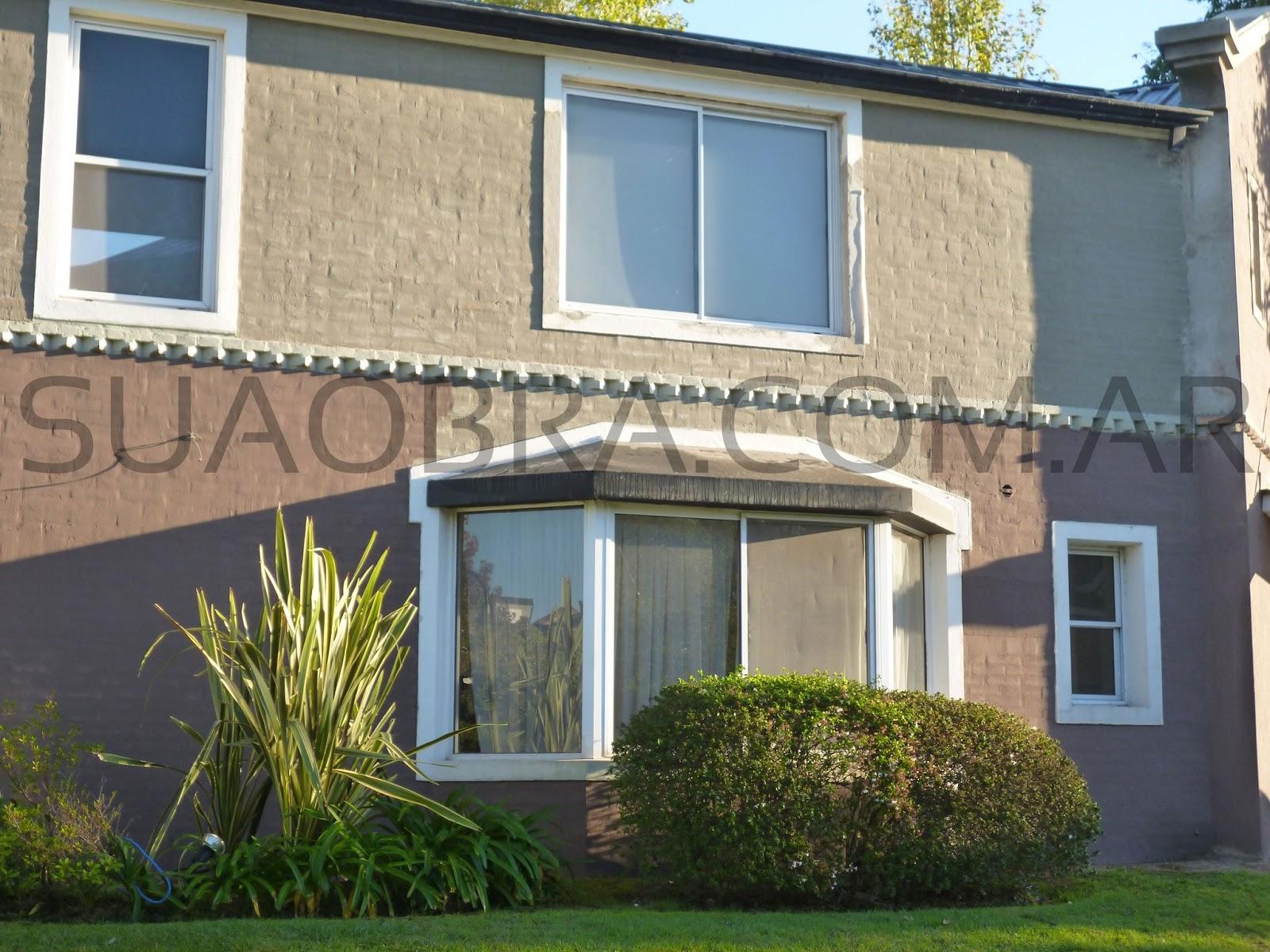 Revestimientos plasticos por suaobra com aplicaci n de - Revestimientos exteriores para casas ...