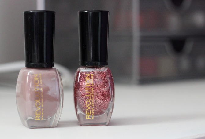 Makeup Revolution nail polishes