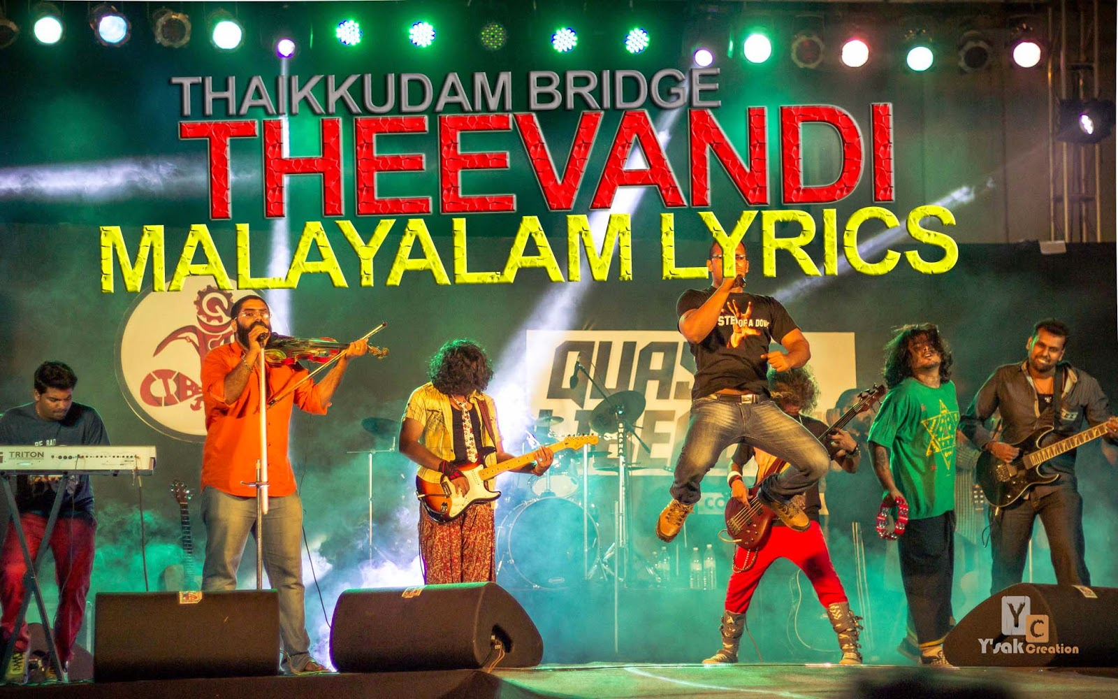 Theevandi - Thaikkudam Bridge Lyric Video + Free Download mp3