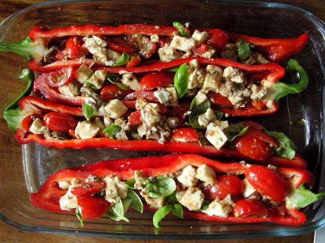 Roasted sweet pepper