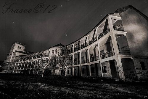 The Dark World 7: Sanatorio de tuberculosos de Sierra Espuña. Lugar ...