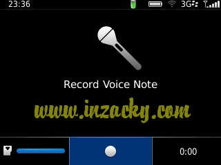 Voice Notes Recorder Blackberry Hilang